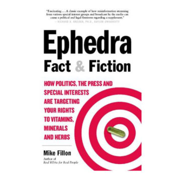 Ephedra Fact & Fiction Book