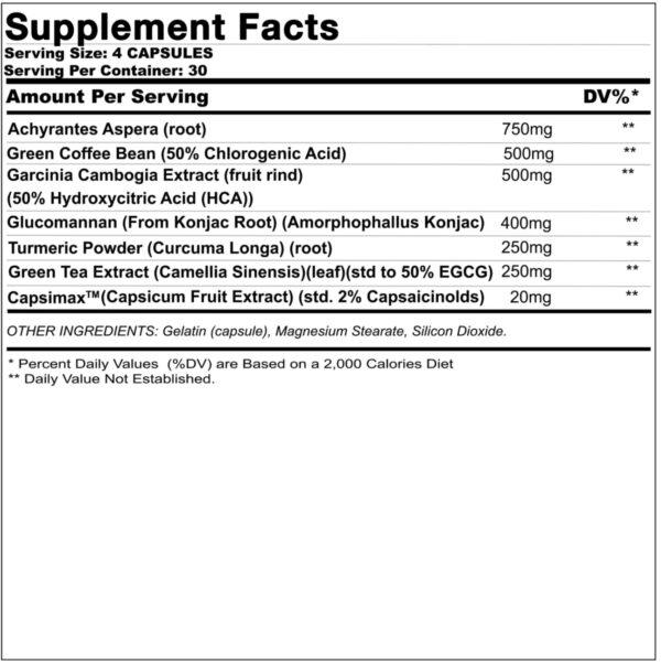 Max Appetitie Suppressant Formula